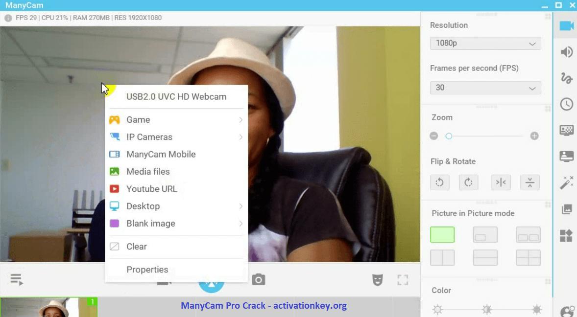 ManyCam Pro 7.0.6 Crack Activation Code 2020 (Windows)
