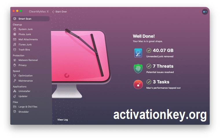CleanMyMac X 4.6.10 Crack + Activation Number 2020