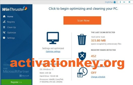 WinThruster 2 Crack Plus Product Key Full Download