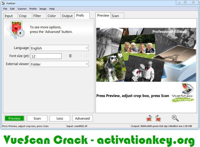 VueScan Pro 9.7.28 Crack Full Version + Serial Number
