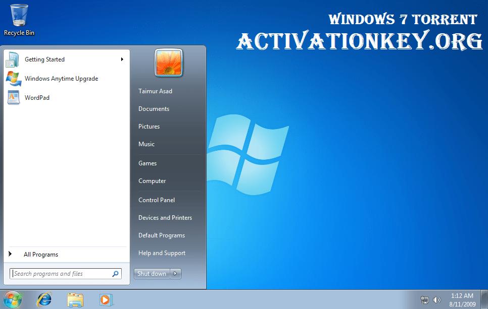 Windows 7 Torrent ultimate iso File Download (32 & 64 Bit)