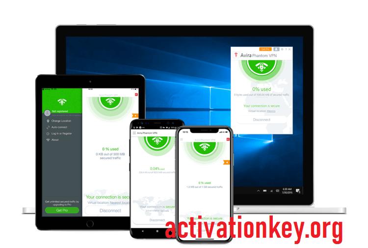Avira Phantom VPN Pro 2.32.2.34115 Crack + Activator [Latest]