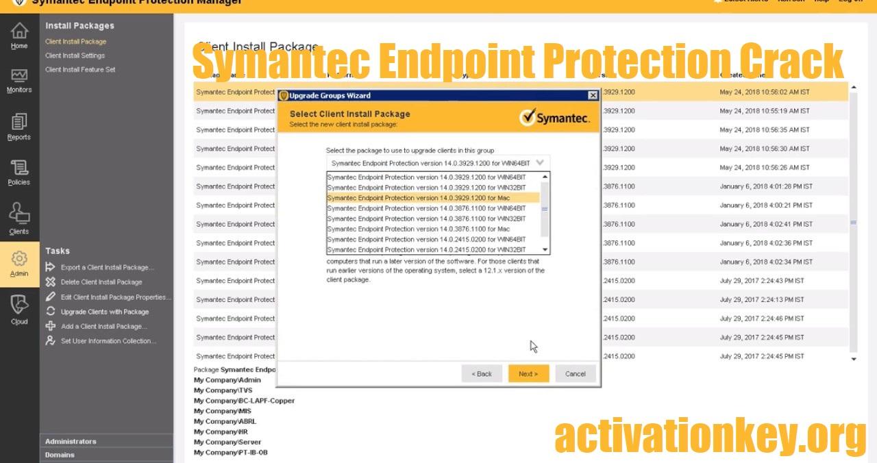 Symantec Endpoint Protection 14.3.558.0000 Crack 32/64 Bit [Full]