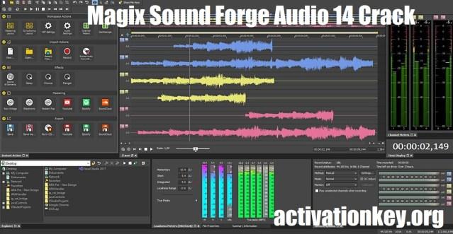 Magix Sound Forge Audio 14 Crack Torrent + Serial KEY Download
