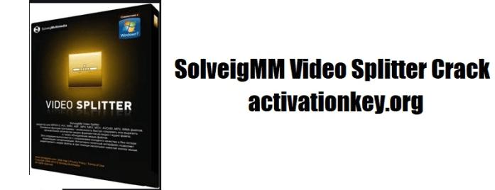 SolveigMM Video Splitter Crack + Key Free [Business Edition]
