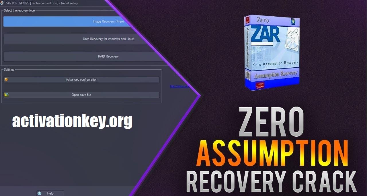 Zero Assumption Recovery Crack 10.0 Build 1957 Full [Latest]