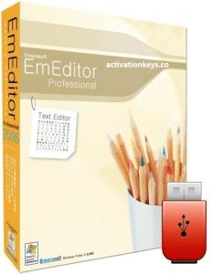 EmEditor Professional 18.9.3 Crack + Free Registration Key [Lifetime] 2019