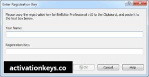 EmEditor Professional 18.9.12 Crack + Free Registration Key [Lifetime] 2019