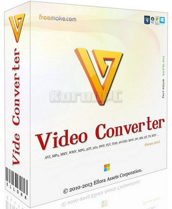 Clé d'activation Freemake Video Converter Gold 4 avec Crack Full 2020
