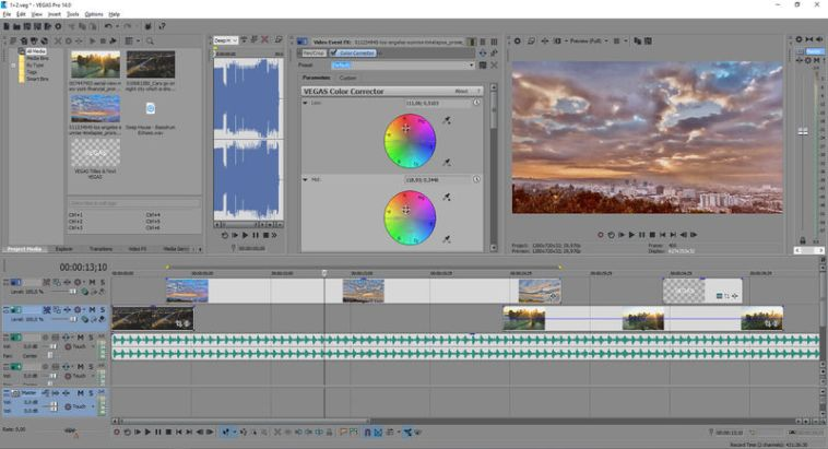 MAGIX Vegas Pro 14 Crack + Activation Key Free Download [Patched]