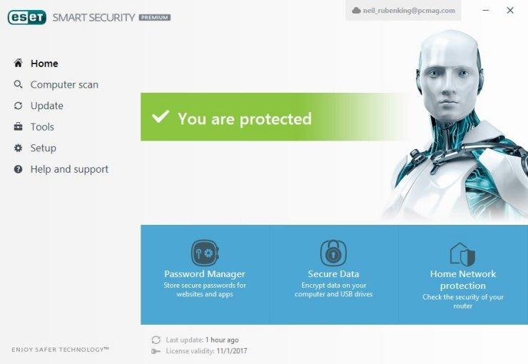 ESET Smart Security 9 Activation Key Plus Username & Password 2019