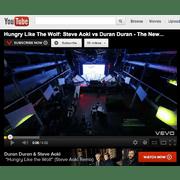 YOUTUBE: Hungry Like The Wolf (Steve Aoki Remix)