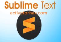 Sublime Text 4 Build 4107 Crack + License Key Free Download 2021