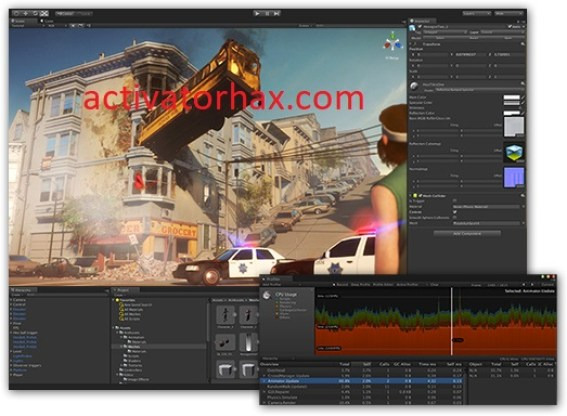 Unity Pro Crack 2021.4 + Serial Key Free Download