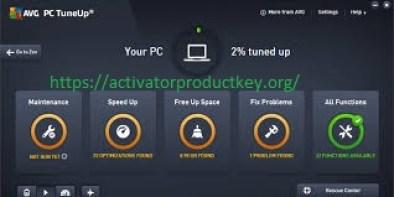 AVG PC Tuneup Crack 2019 19.1.831 + License Key 2019 Free Download