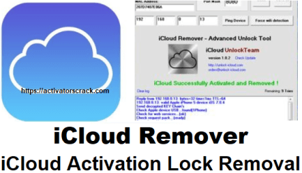 iCloud Remover Crack Full Activation