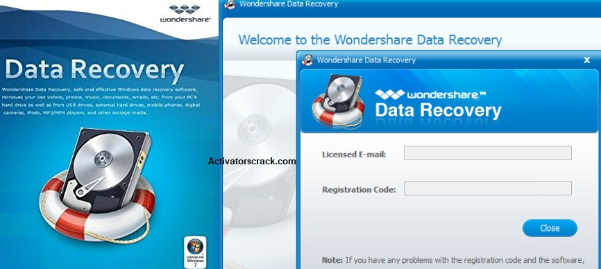 Wondershare Data Recovery 6.6.1.0 Multilingual Crack + Portable: