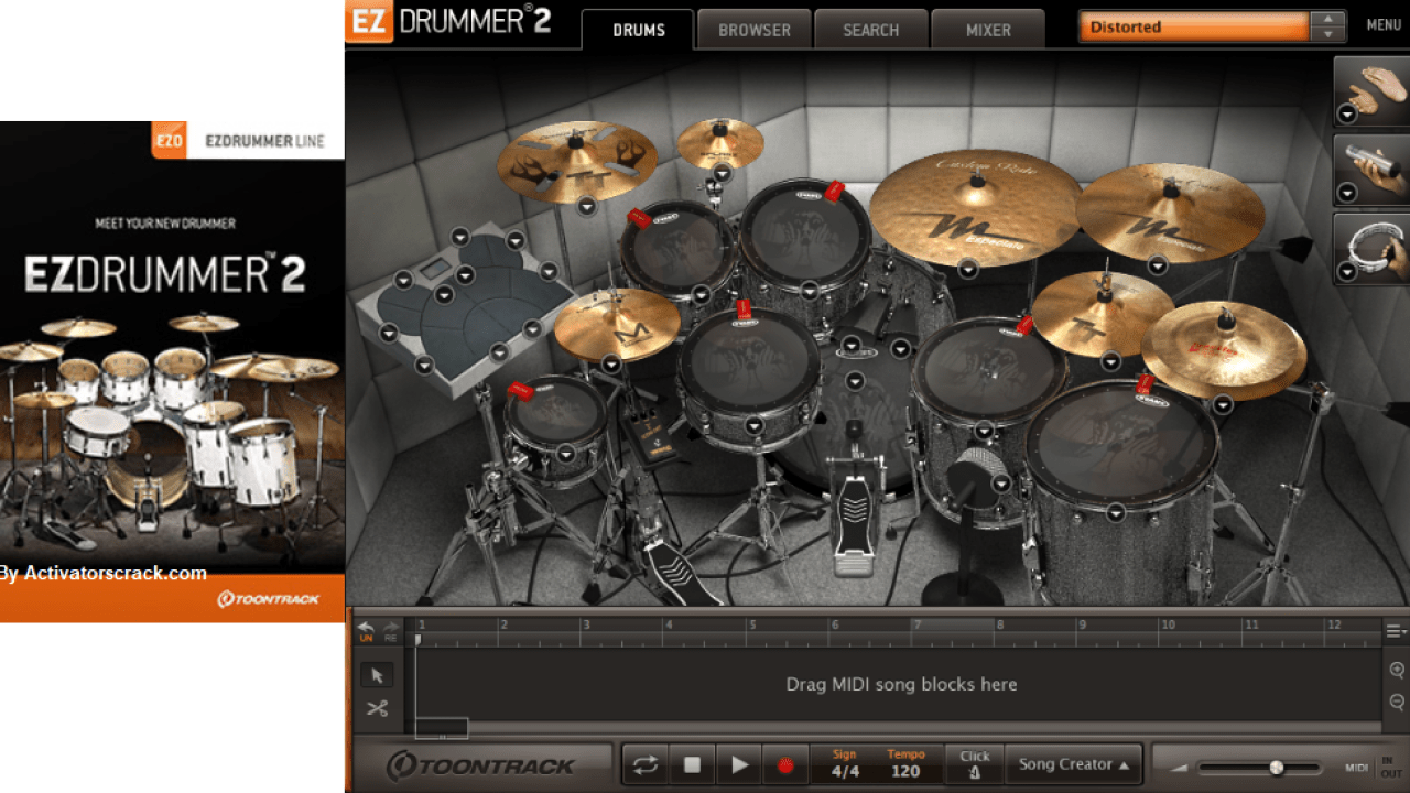 Toontrack ezdrummer 2 songwriters edition