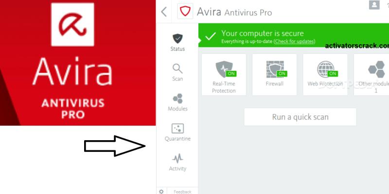 Avira Antivirus Pro Crack Free