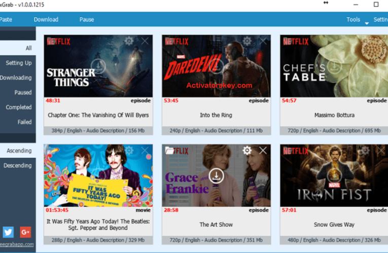 FlixGrab+ 1 Crack Premium Plus Serial Key Free Download 2020
