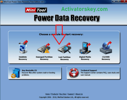 MiniTool Power Data Recovery Crack Download
