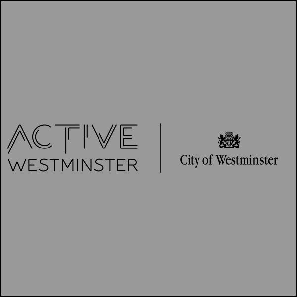 Full black ActiveWestminster Logo