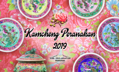 Enjoy the 3rd Kamcheng Peranakan Festival