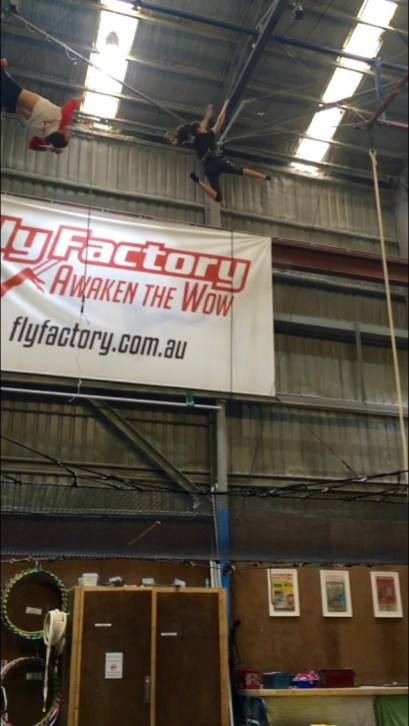 School holiday ideas for active kids III - flying trapeze, intensity and roller skating/blading
