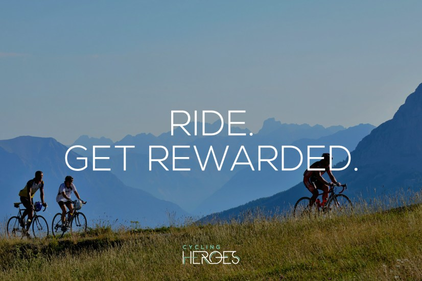 Cycling Heroes - Cycle for Rewards!