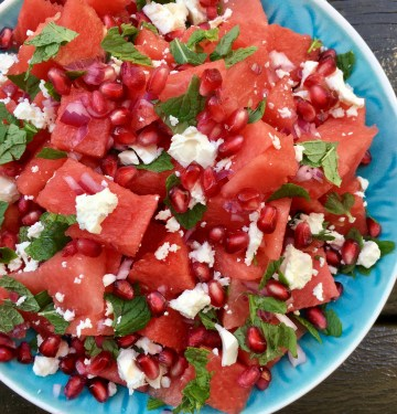 Why is watermelon salad absolutely awesome for recovery?