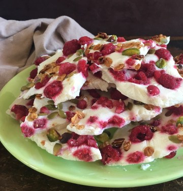 How to delight with my easy festive yogurt bark