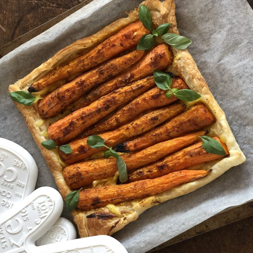 Celebrate Easter this year with a simple but yummy carrot tart