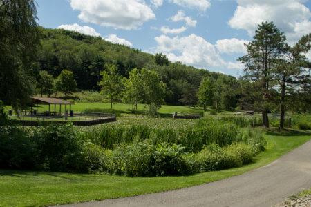 deer lakes county park near pittsburgh pennsylvania