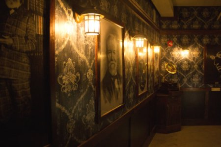 portrait of andrew carnegie at the escape room in pittsburgh pennsylvania