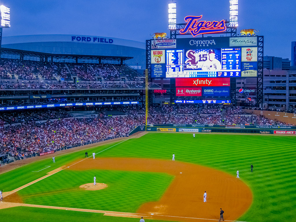 Detroit Tigers at Comerica Park
