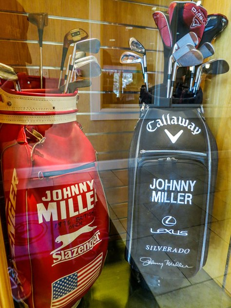 Johnny Miller's Golf Bags