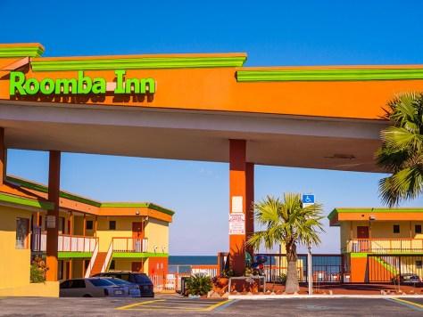 Roomba Inn, Daytona Beach, Florida