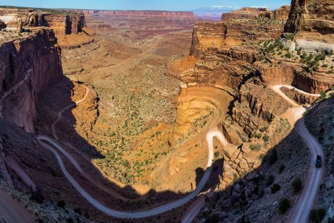 Shafer Trail Overlook, Canyonlands National Park, Utah