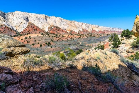 Waterpocket Fold, Capitol Reef National Park, Utah