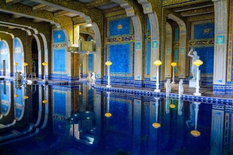 Indoor Roman Pool at The Hearst Castle, San Simeon