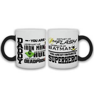 Daddy Superhero Cup