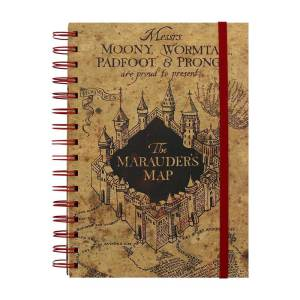 Harry Potter The Marauders Map Notebook