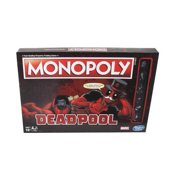 Marvel Deadpool Monopoly Board Game