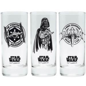 Star Wars Set of 3 Glasses