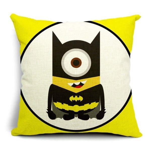 Batman Minions Superhero Pillow Cases