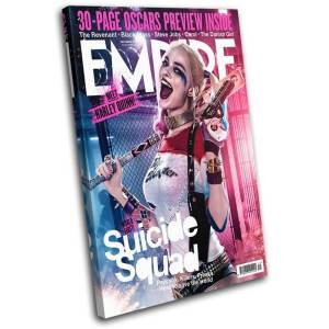 Suicide Squad Harley Quinn Empire Cover Canvas