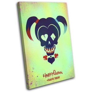 Suicide Squad Harley Quinn Movie Canvas