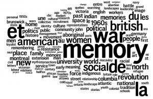 CHA 2011: Fredericton Keywords: Memory, War, British, American, Social