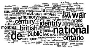 CHA 2005: University of Western Ontario Keywords: National, War, British, Identity, Ontario