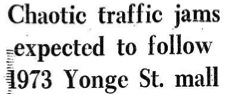 Toronto Star, 1973.